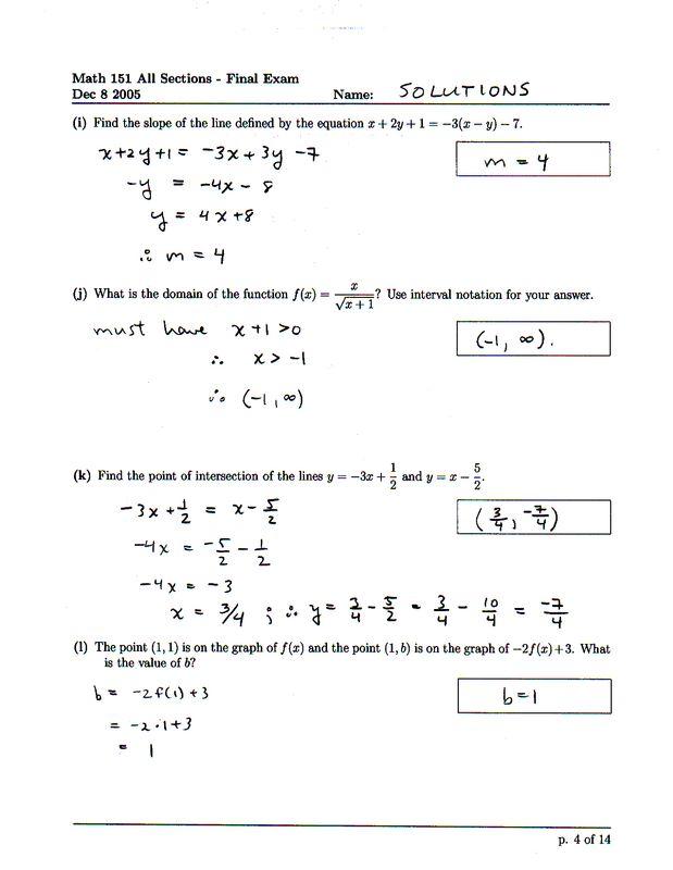 math 156 final exam